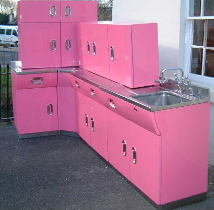 1950\'s Kitchen Cabinets | reclaimedhome.com
