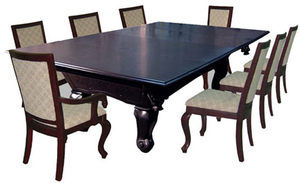 Gallery Of This Dining Top From California Tables With Pool Table Dining  Room Table