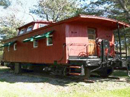 Little Red Caboose Reclaimedhome Com