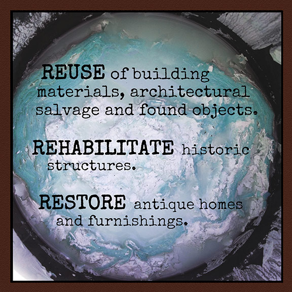 Reuse - Rehabilitate - Restore - Brooklyn