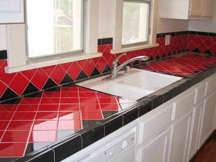 Modern-Ceramic-Tile-Kitchen-Countertops