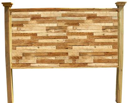 Barn Door Style Headboard